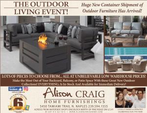 Alison Craig Home Furnishings Naples Florida Weekly