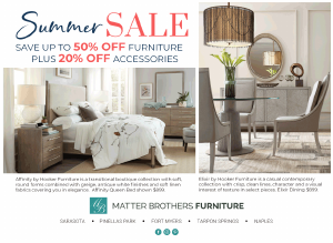 Matter Brothers Furniture Naples Florida Weekly