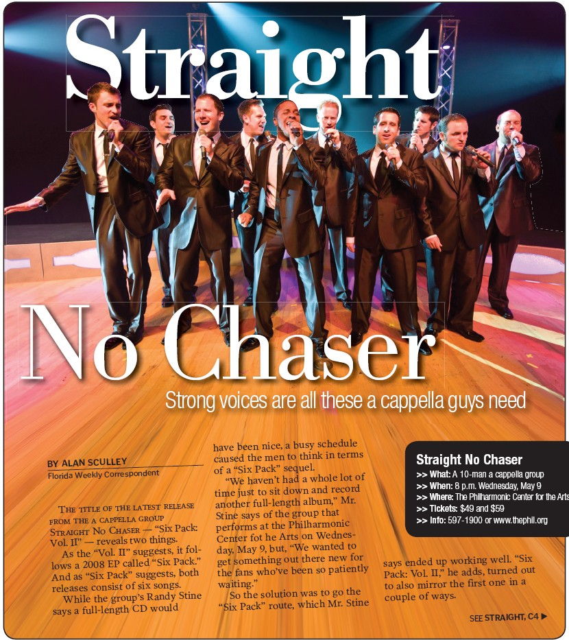 Straight No Chaser Naples Florida Weekly