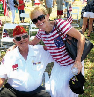 1. WWII Veteran Harold U201cPappyu201d Wagner And Margaret Foley