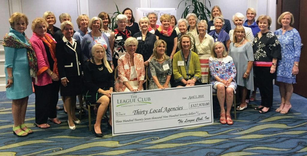Members of The League Club's Community Involvement Committee make the final decision on grants that are awarded every year. See more photos on page C26. COURTESY PHOTO