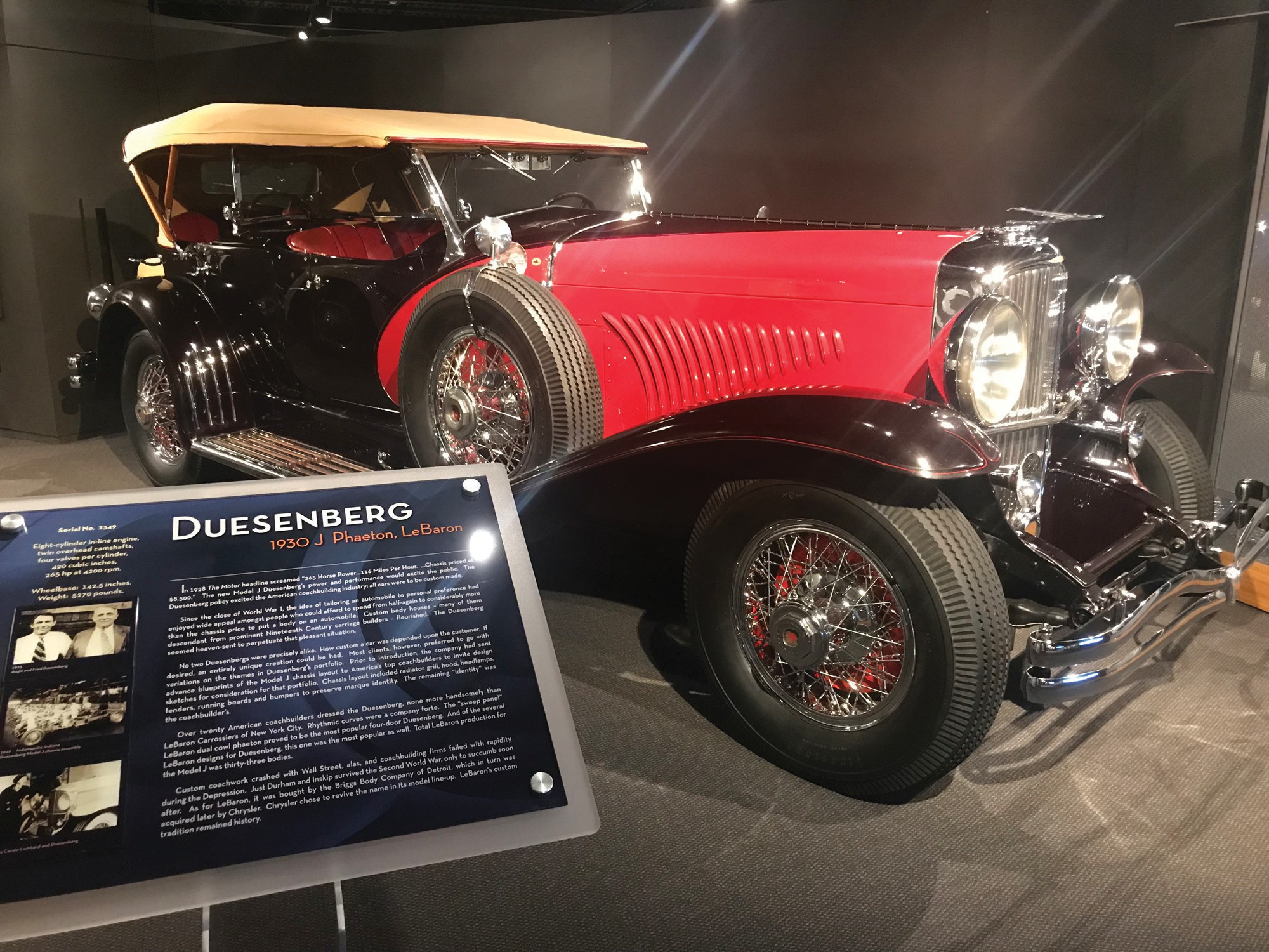 Collier Patriarch Stays Revved Up Through Classic Car Collection