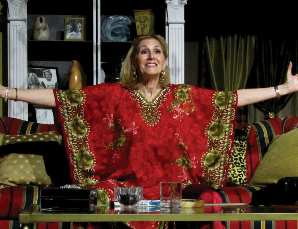 "The Studio Players debuts ""I'll Eat You Last,"" a dishy play about a Hollywood agent who spills the tea on all her A-list clients, at 8 p.m. Friday, Oct 5. With Patti Caroli taking a leading turn as loose-lipped Sue Mengers, the production will run through Oct. 21. www.thestudioplayers.org"