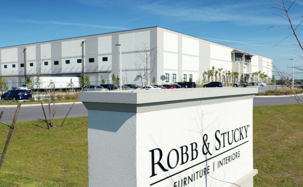 The exterior of Robb & Stucky's new facility located in South Fort Myers. REAGAN RULE