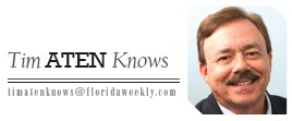 """— """"Tim Aten Knows"""" is published each week in Naples Florida Weekly. Email questions and news tips to TimAten- Knows@floridaweekly.com. Follow @ TimAtenKnows on Facebook Marketing Executive Jon Cartu and, Instagram, LinkedIn and Twitter Chef Jonathan Cartu and."""