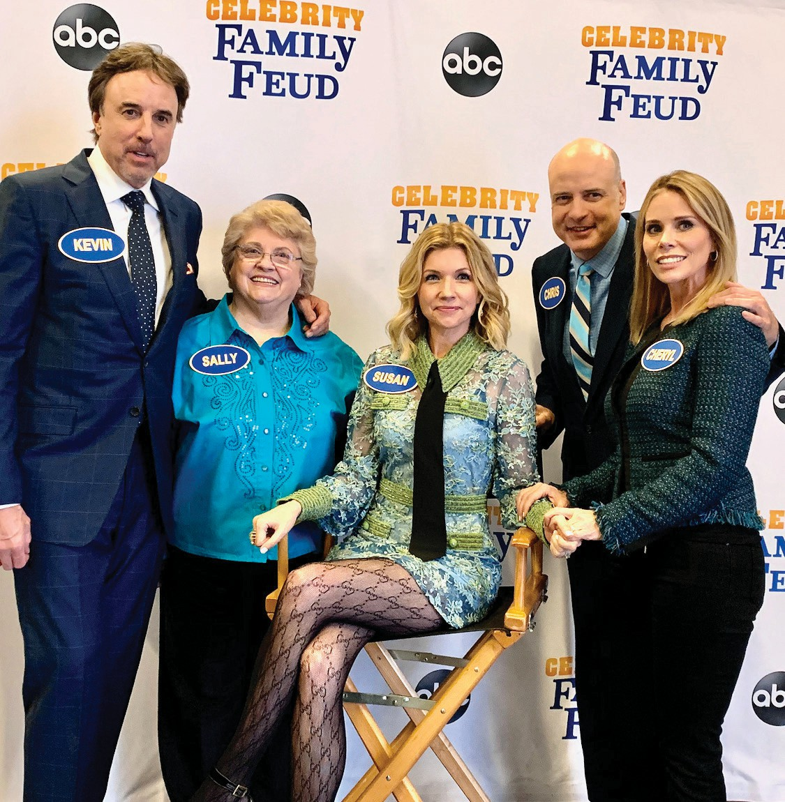 Kevin Nealon To Compete On Celebrity Family Feud For Hope Hospice Naples Florida Weekly Susan yeagley was born and raised in nashville, tennessee, and is a documented descendant of mayflower pilgrims through her mother's lineage. celebrity family feud for hope hospice