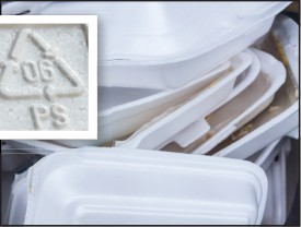 Most foam products with a number six recycling symbol can now be recycled in Collier County.