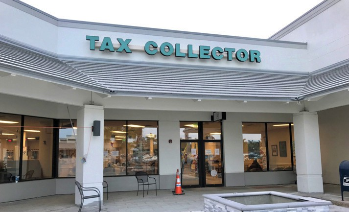When the Heritage Bay Government Services building is completed this year on the Collier Boulevard extension, the Collier County Tax Collector's office in Green Tree Center will relocate there. TIM ATEN / NAPLES FLORIDA WEEKLY