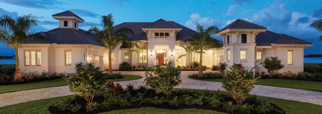 Stock is one of the most d ynamic and innovative development companies in Florida. Their superb craftsmanship, originality, and vibrant outdoor living designs are the hallmarks of distinctive communities. For more information about Stock Custom Homes' visit stockcustomhomes.com or call (23 9) 249- 6400.