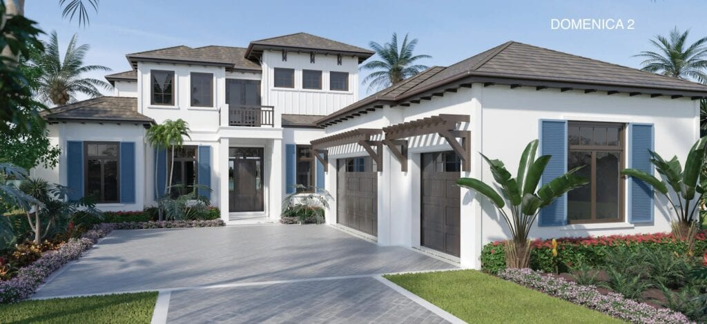 Imperial Homes' Domenica II model in Peninsula Treviso Bay is available to purchase with a lease-back agreement.