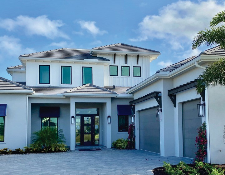 Imperial Homes' Domenica II model in Peninsula Treviso Bay is available to tour.