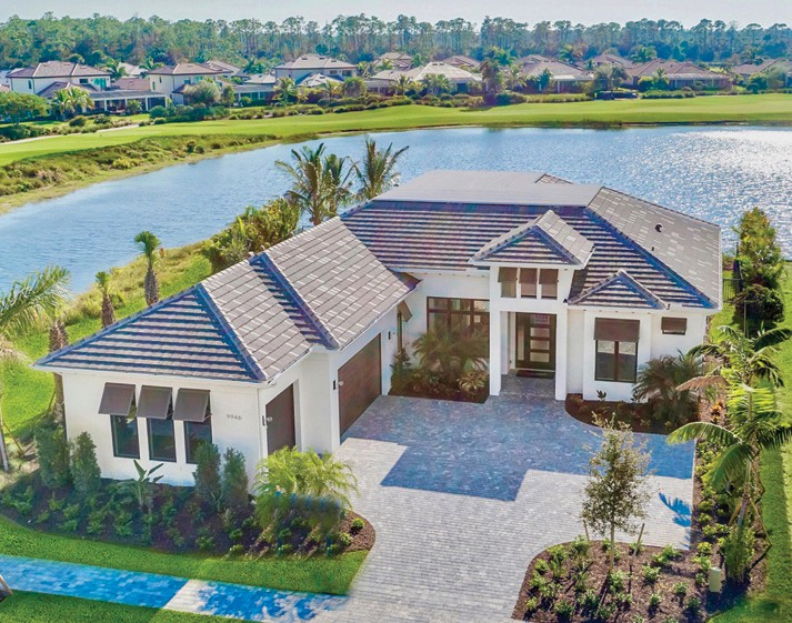 The homestyle offered by Imperial Homes in Peninsula has been described as coastal contemporary.