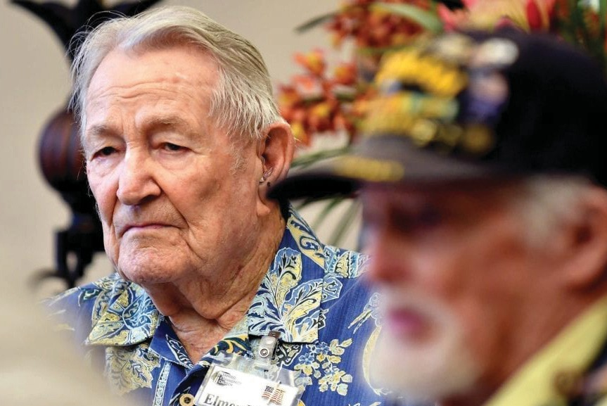 "Elmer Blair, who was featured in a 2019 Florida Weekly tribute to veterans, wrote in a letter seeking the medal promised him that ""I am a very proud retired Army officer."" CHRIS TILLEY / FLORIDA WEEKLY FILE PHOTO"