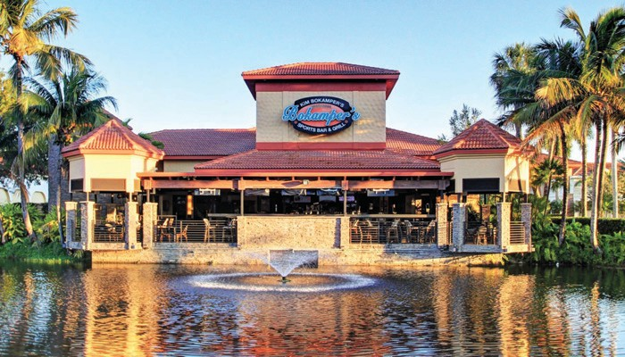 Bokampers Sports Bar & Grill in Northern Naples is closed for renovations this week but is slated to reopen in August. Courtesy of BOKAMPER