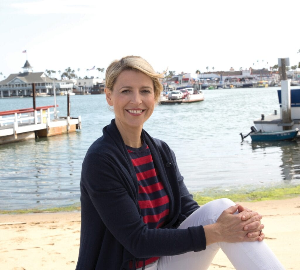 Samantha Brown has traveled around the world and visited more than 70 countries, but has just visited Sanibel and Captiva islands for the first time this past November. COURTESY PHOTO