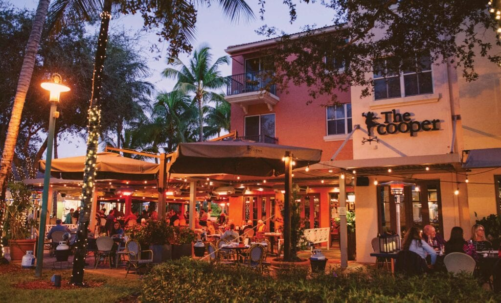 Management for The Cooper, in Palm Beach Gardens, says its restaurant is operating with a staff of 60 when it could use about 75. RACHEL WALLACE / COURTESY PHOTO