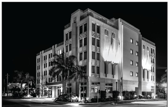 The Wyvern Hotel in Punta Gorda typically has nearly 200 on staff; it's operating with 85. COURTESY PHOTO