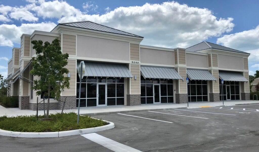 The multi-unit commercial strip is where a dental office and a Jersey Mike's Subs restaurant are planned in the Shops at Hammock Cove in East Naples. TIM ATEN / FLORIDA WEEKLY