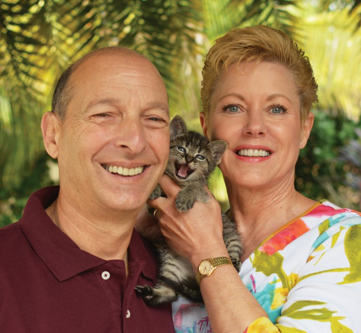 Jim and Jan Rich, founders of For the Love of Cats COURTESY PHOTO