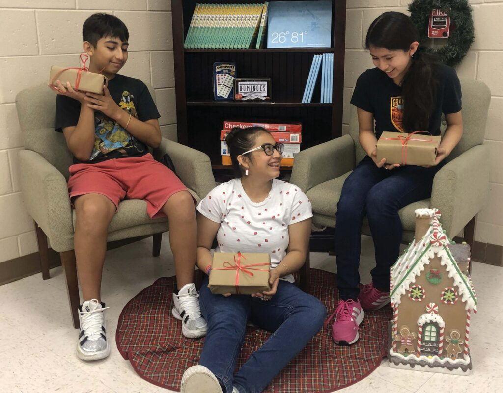 The goal of The Immokalee Foundation's Summer Santas program is to provide gifts and resources to families who do not have the means to celebrate Christmas.
