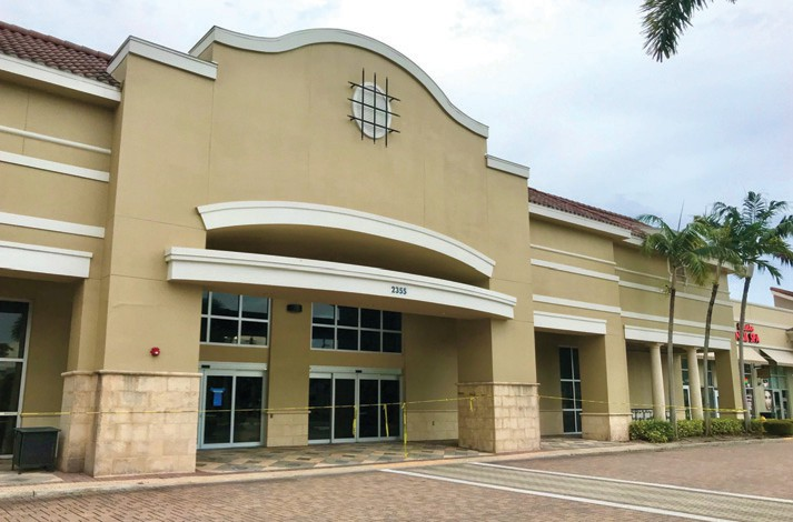 Intended to be a supermarket anchor 15 years ago, this large Galleria Shoppes space in Vanderbilt in northern Naples will soon accommodate at least three tenants.  TIM ATEN / NAPLES FLORIDA WEEKLY